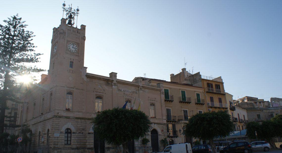 Foto del palazzo di città di Licata