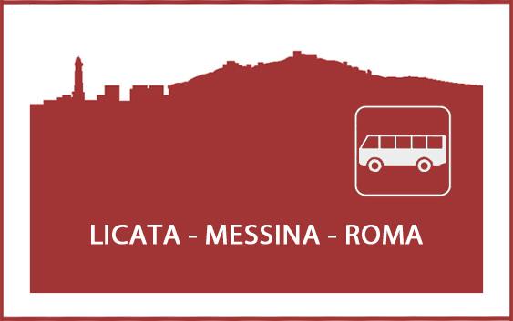 Logo orari autobus Licata - Roma