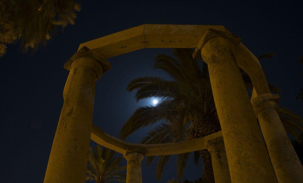 Foto della villa comunale di Licata