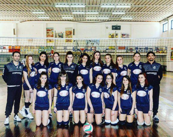 Foto della squadra femminile di pallavolo Limpiados Volley