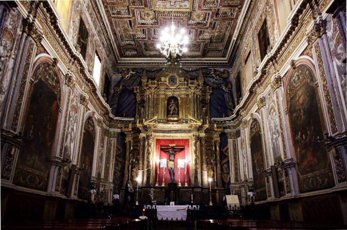 Foto della Cappella del Cristo Nero di Licata