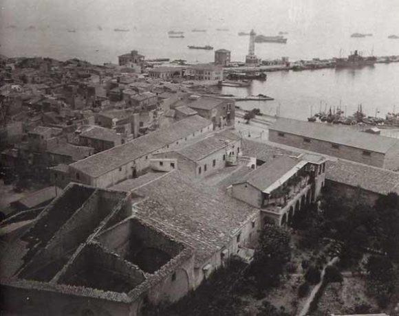 Foto dello sbarco alleato a Licata nella seconda guerra mondiale