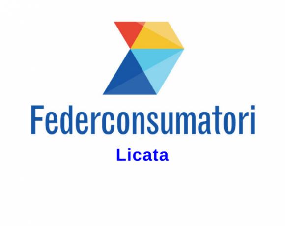 logo dell'associazione federconsumatori, sezione di Licata