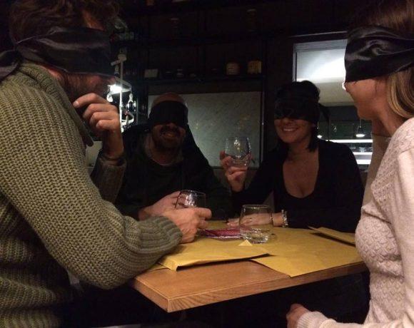 Foto dell'evento Cena al Buio presso il ristorante Sardasalata di Licata
