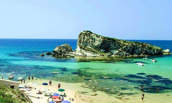 Foto della spiaggia Rocca a Licata