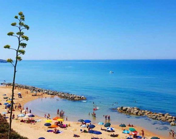 Foto della spiaggia del Pisciotto a Licata