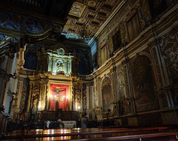 Foto della Cappella del crocifisso Nero di Licata